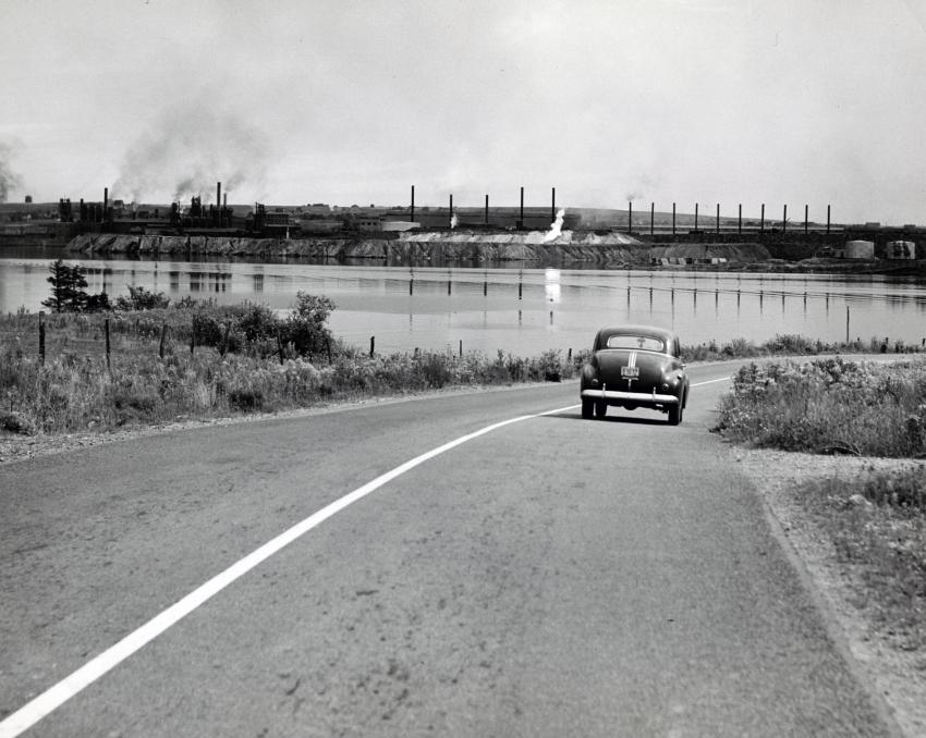 Sydney Steel Plant from Westmount Road,1945