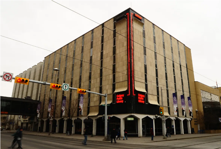 Calgary's old central library