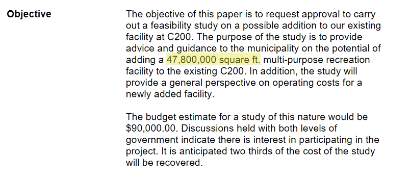 excerpt from CBRM Issue Paper