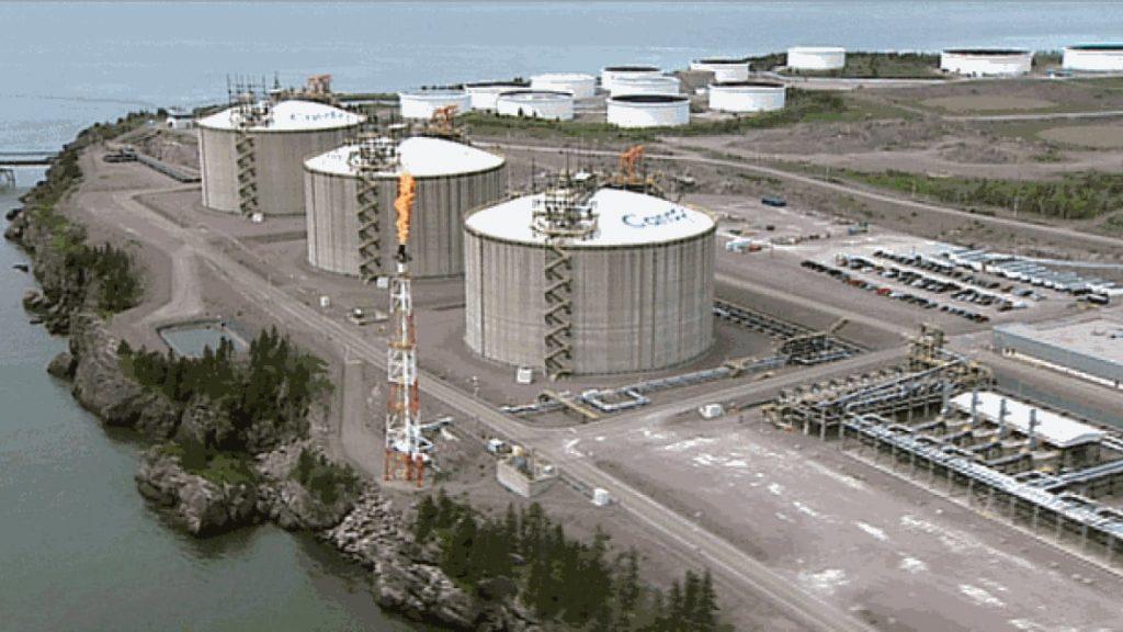 Canaport LNG terminal, Saint John, NB