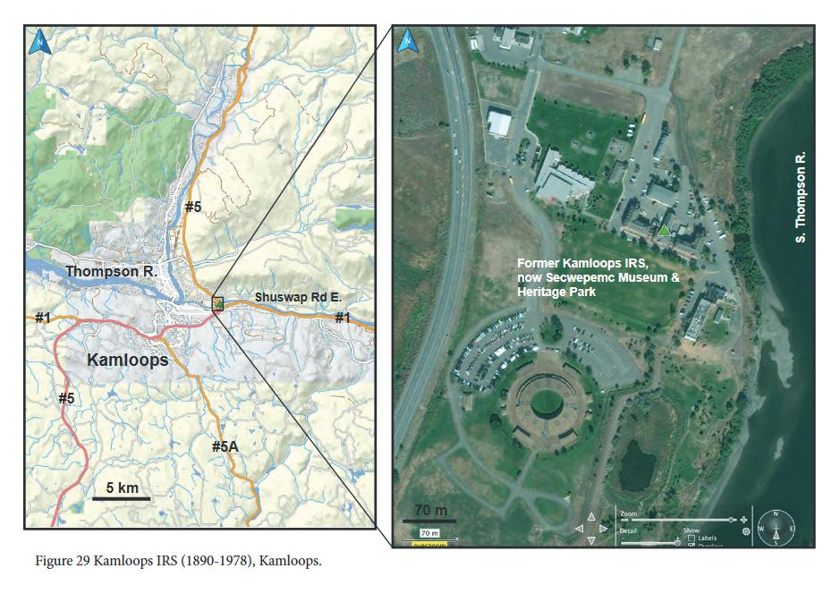 Kamloops Indian Residential School Site, TRC report