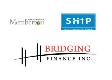 Bridging Finance, Membertou and SHIP logos