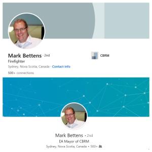 Mark Bettens LinkedIn