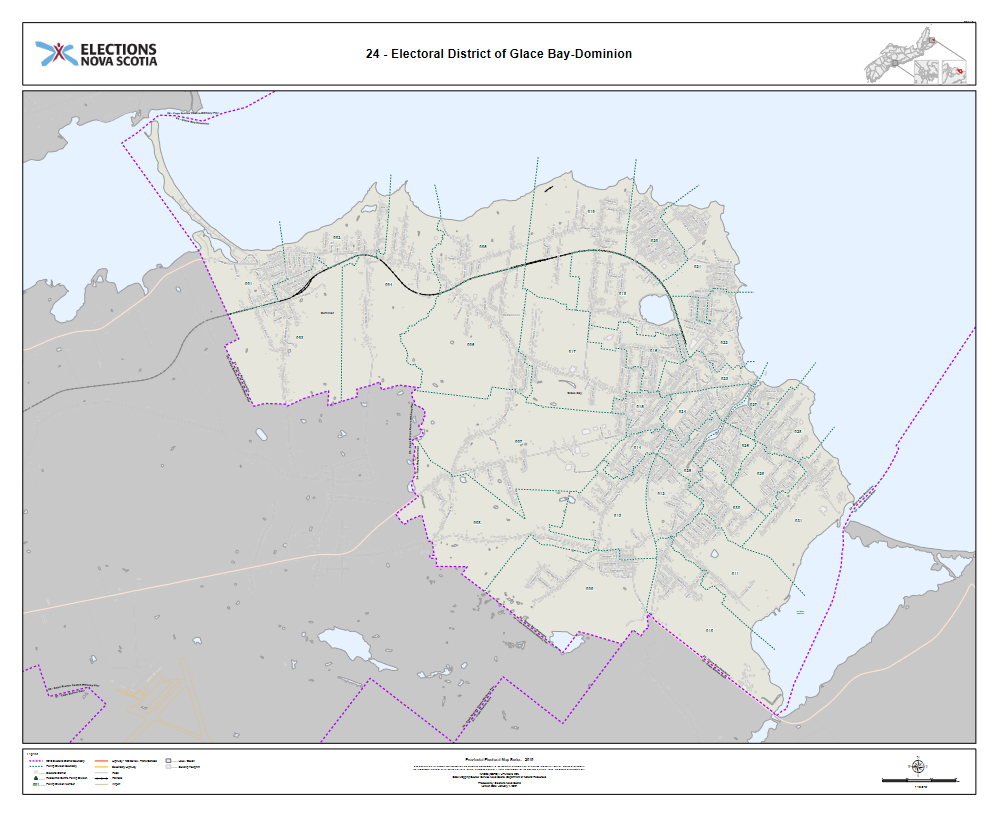 Electoral Map: Glace Bay-Dominion