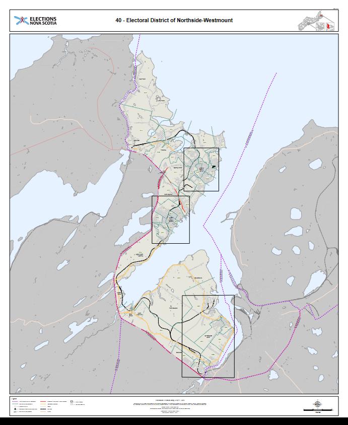 Electoral Map: Northside-Westmount