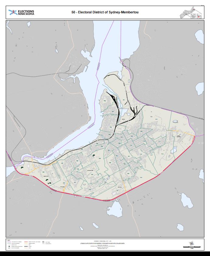 Electoral Map: Sydney-Membertou