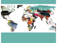 Literary map of world by Reddit User Backforward 24 (https://www.reddit.com/r/MapPorn/comments/5z1bau/literature_map_of_the_world_oc_57352913/)
