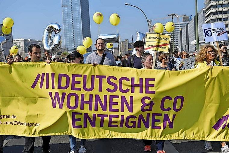 Expropriate DW & Co Protest, Berlin, April 2019
