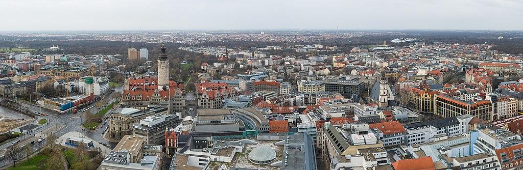 Leipzig panorama, 2013
